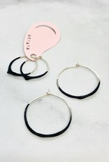 Drip Hoop Earrings