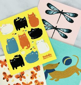 Animal Swedish Dishcloths