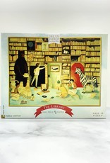 New York Puzzle Company The Library 1000 Piece Puzzle