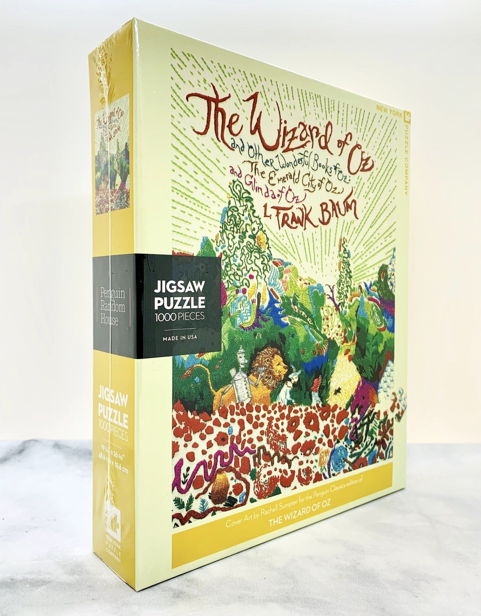New York Puzzle Company Wizard of Oz 1000 Piece Puzzle