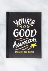 """You're a Good Human"" gift book"