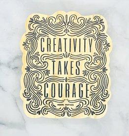 Compendium Here & There - Creativity Takes Courage (medium)