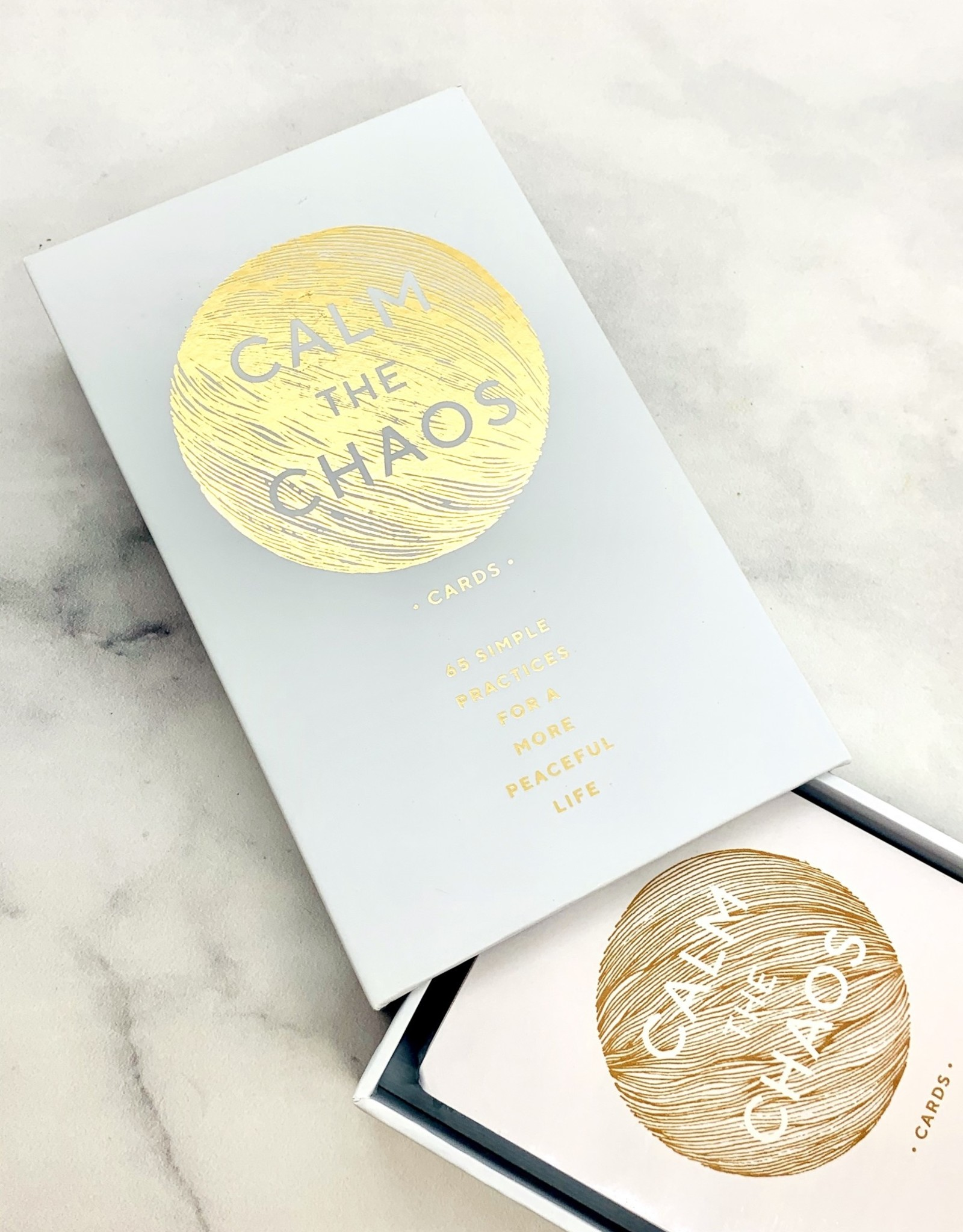 Calm the Chaos Cards: 65 Simple Practices for a More Peaceful Life