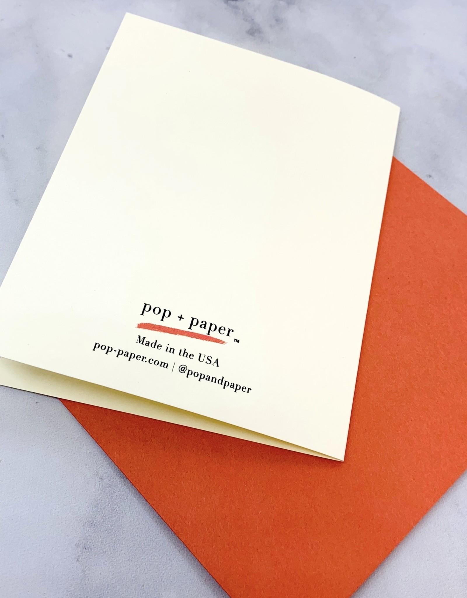 Pop + Paper Social Distance Birthday Card