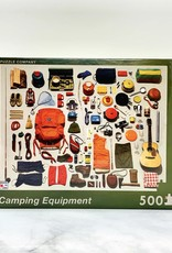 New York Puzzle Company Camping Equipment 500 Piece Puzzle