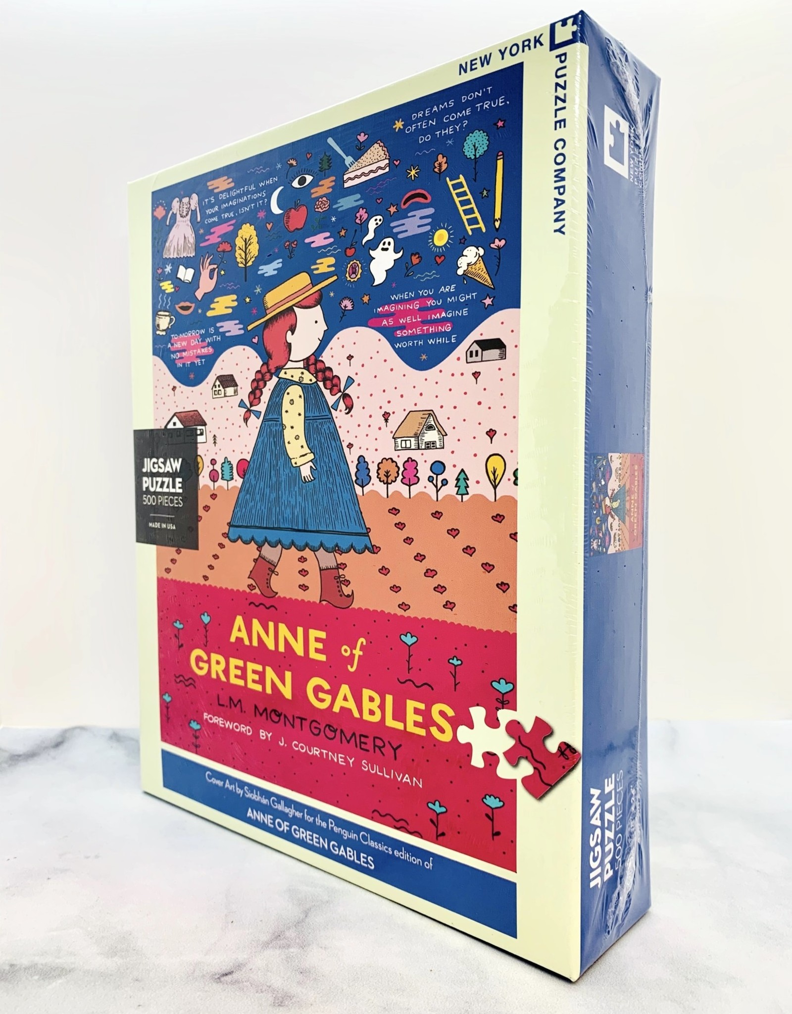 New York Puzzle Company Anne of Green Gables 500 Piece Puzzle