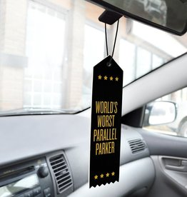 Boldfaced Goods Worst Parallel Parker Air Freshner