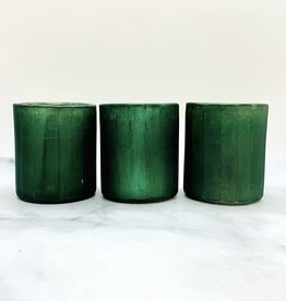 "CREATIVECOOP 2-3/4"" Round x 3""H Matte Teal Tealight Holder"