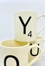 WILDANDWOLF Scrabble Mug
