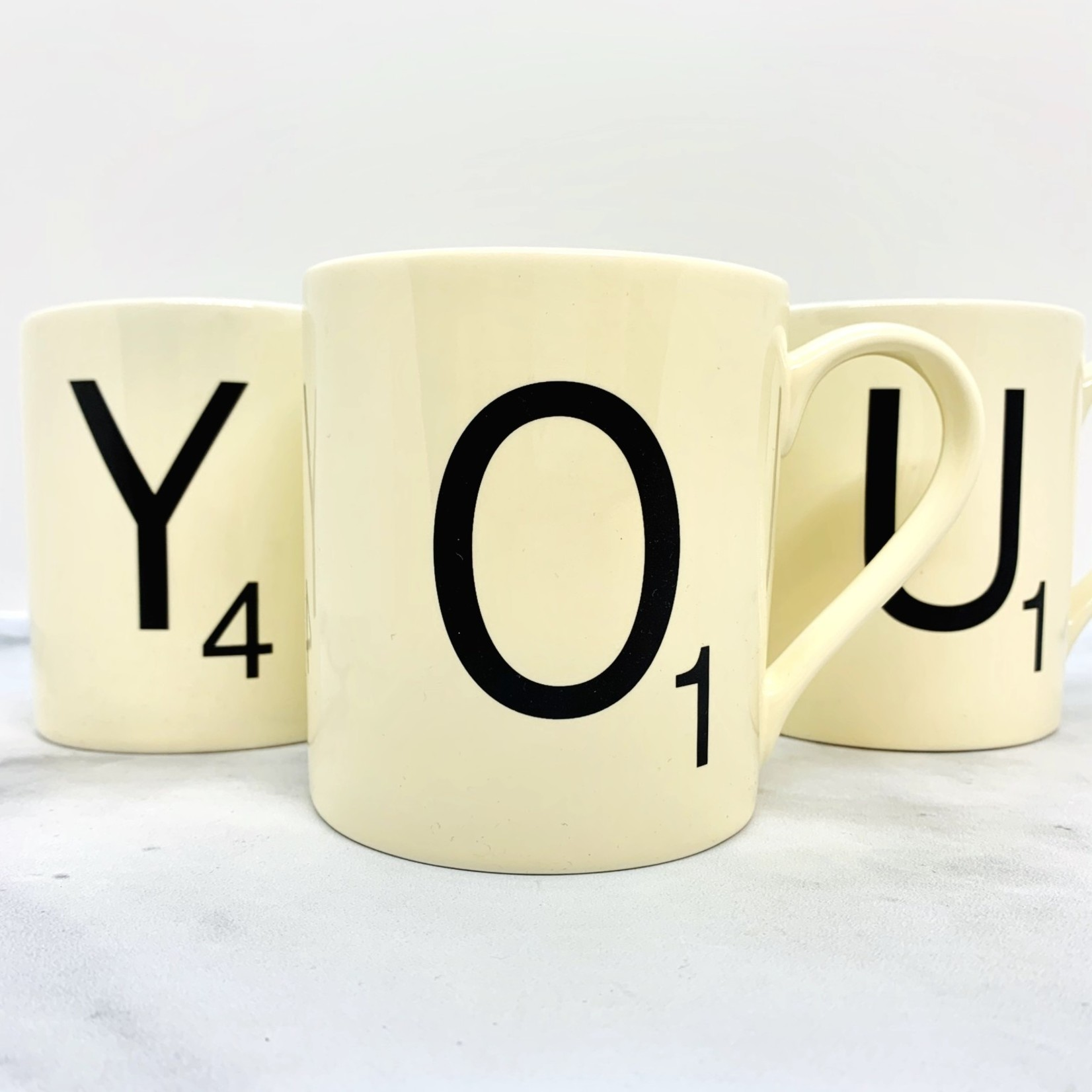 Scrabble Mug