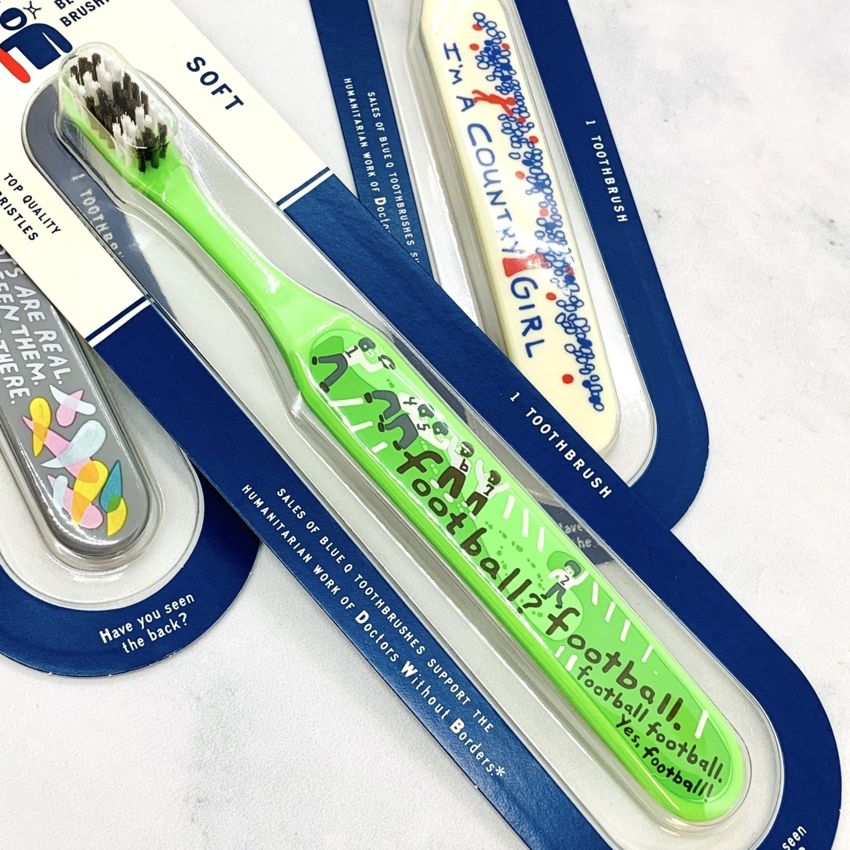 Blue Q Toothbrush