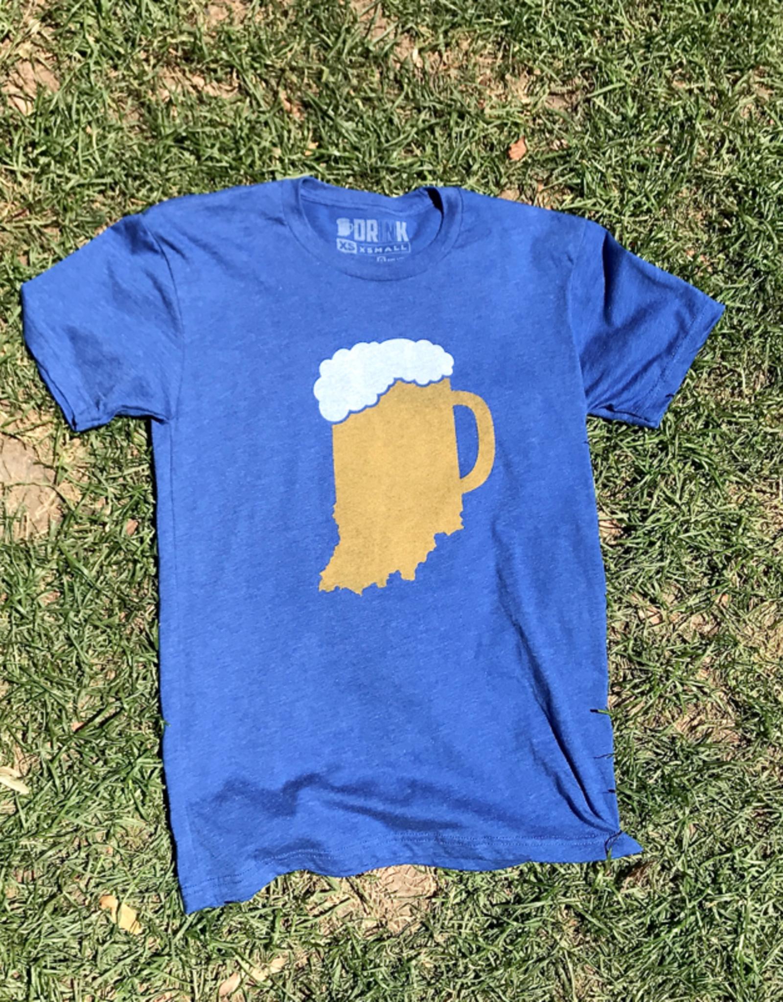 The Shop Indiana Beer Mug Tee