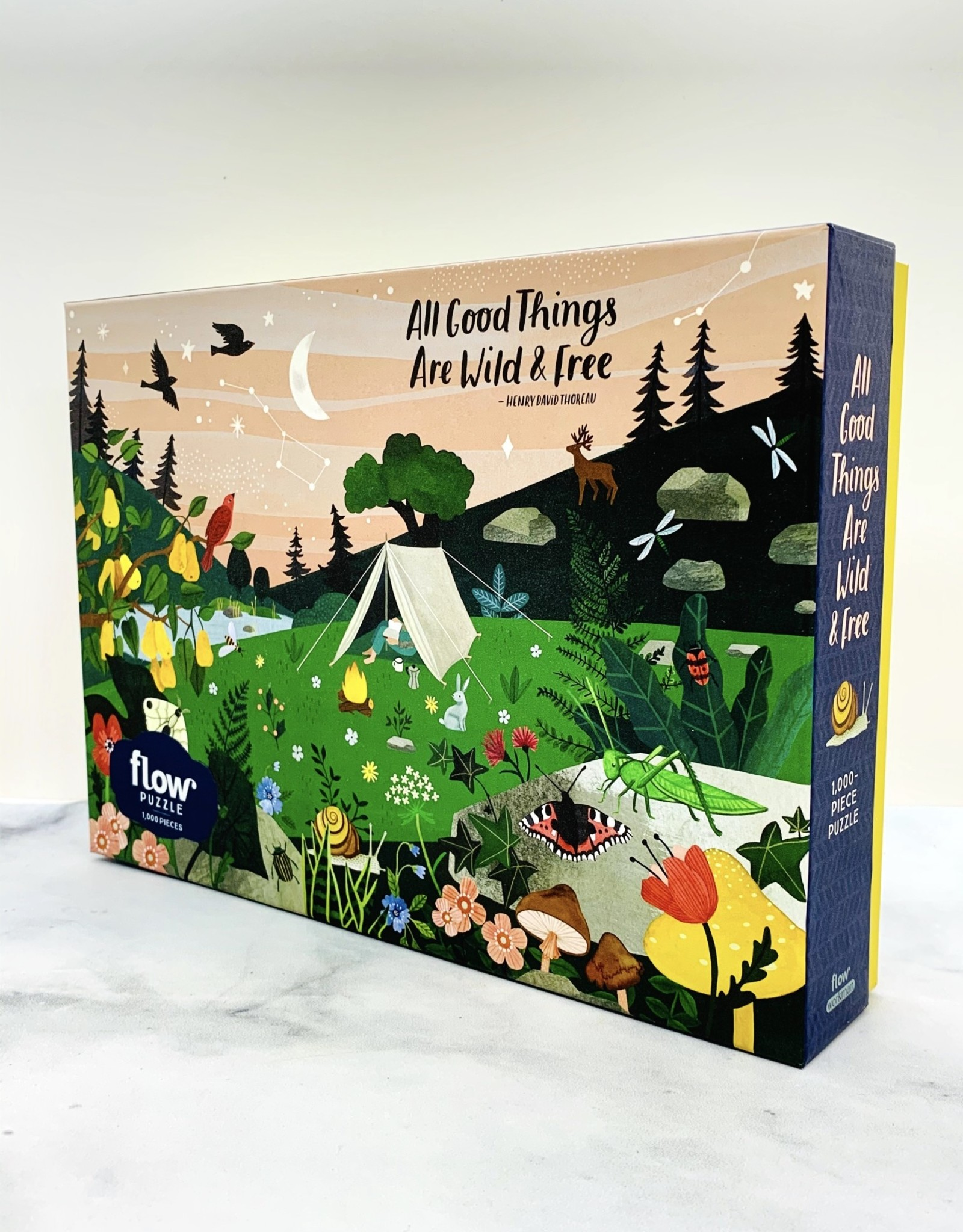 All Good Things are Wild & Free 1000-pc Puzzle