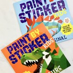 Kids Paint by Sticker Books