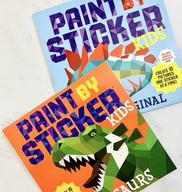 Workman Publishing Kids Paint by Sticker Books