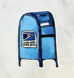 Constellation & Co. USPS Blue Mailbox Sticker