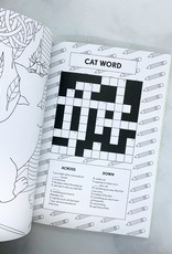 Cat Butt Coloring and Activity Book