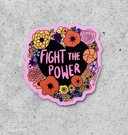 Citizen Ruth Fight The Power Sticker