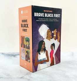 RANDOMHOUSE Brave. Black. First Postcards