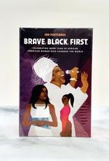 RANDOMHOUSE Brave. Black. First Postcards