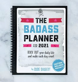POMEGRANATE 2021 Engagement Calendar: The Badass Planner