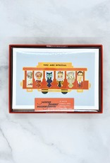 Mister Rogers' Neighborhood: 12 Note Cards with Envelopes and Golden Seals