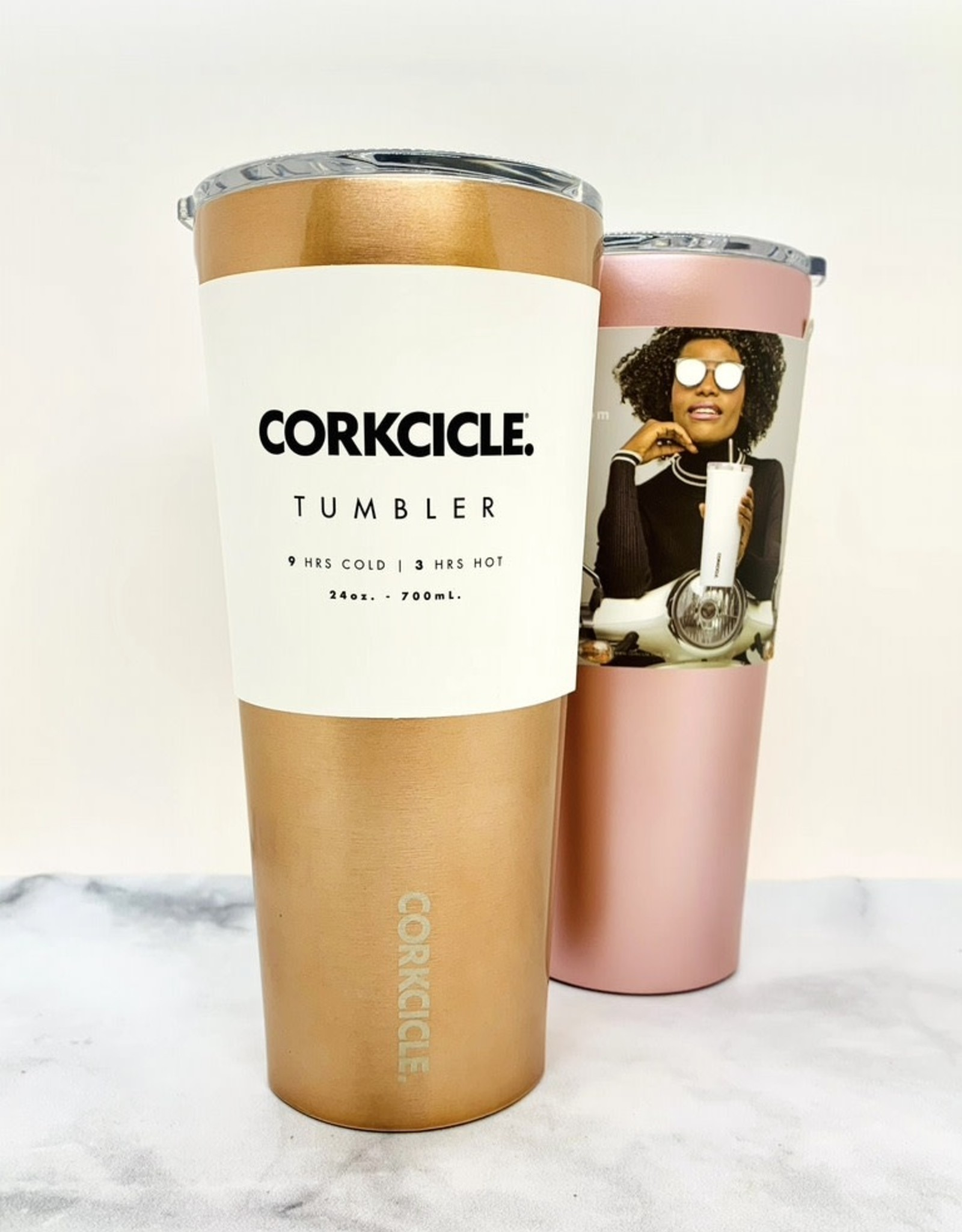 CORKCICILE 24oz Insulated Tumbler