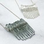 Kinetic Glass Mini Dip Necklace in