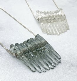 Broken Plates Kinetic Glass Mini Dip Necklace in