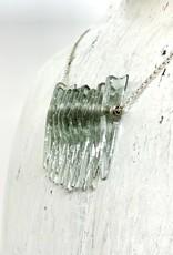 Broken Plates Kinetic Glass Mini Dip Necklace in
