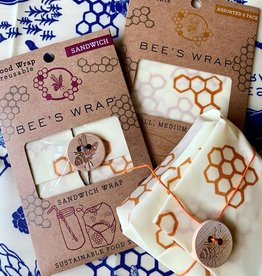 Bee's Wrap Honeycomb Bee's Wax Wraps