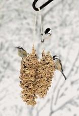 Mr. Bird Pine Cone Pair