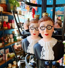 Ruth Bader Ginsburg Bust Ornament