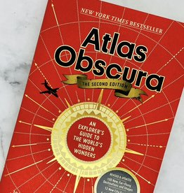 Workman Publishing Atlas Obscura, 2nd Edition