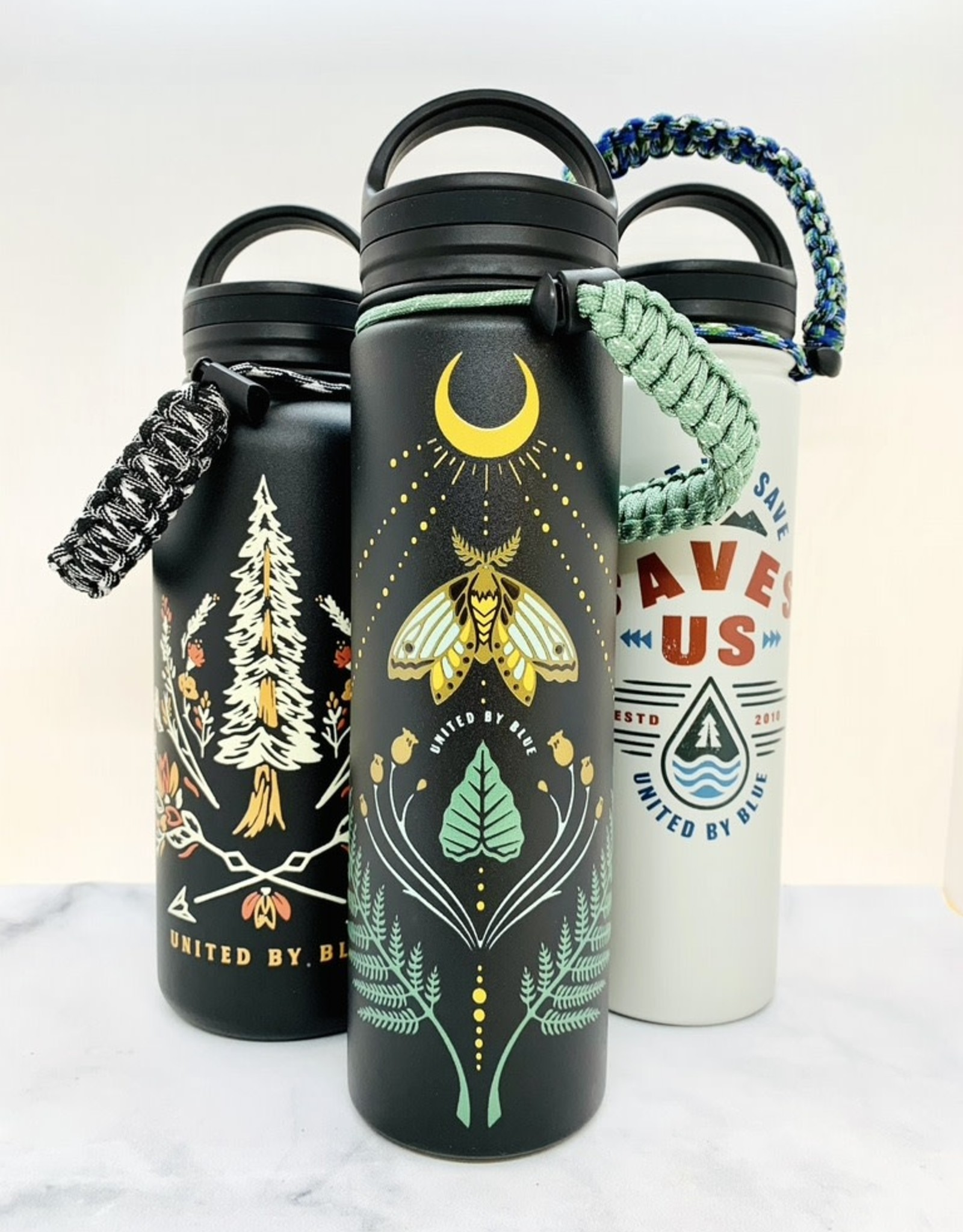 United by Blue 22oz Stainless Steel Bottle