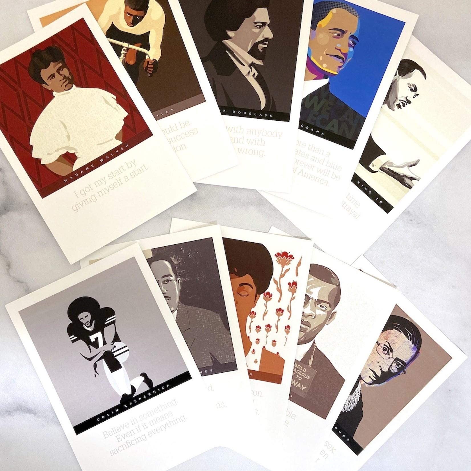 Set/10 Postcards for change