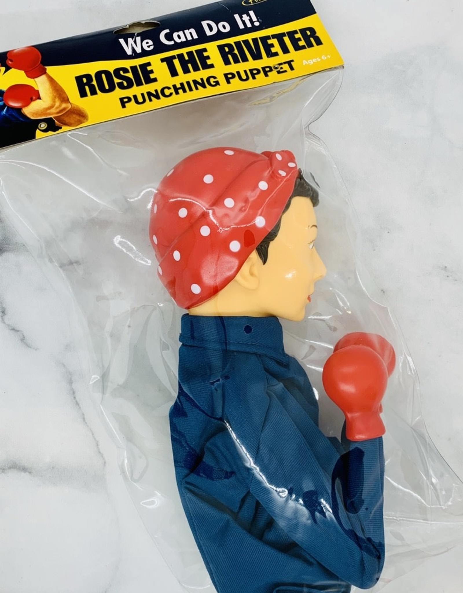 ACCOUTREMENTS Rosie The Riveter Punching Puppet