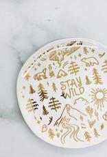 Stay Wild Trinket Tray