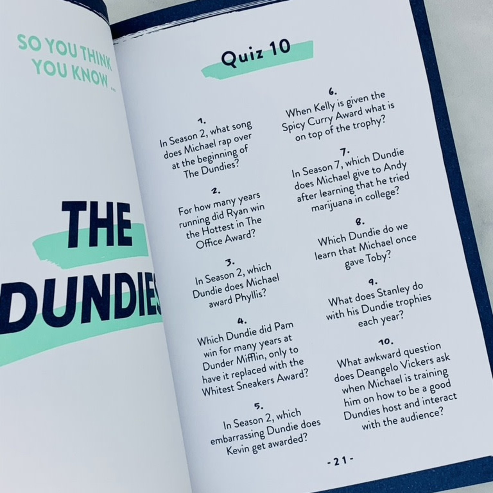 The Office Quizpedia