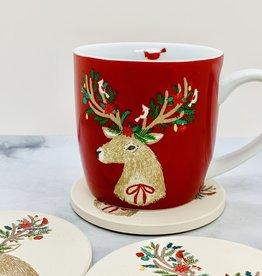 Dasher Deer Mug