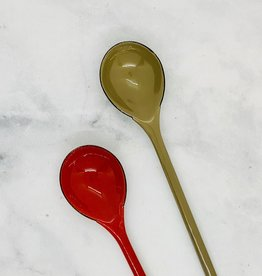 "9-1/2""  Enamel Spoon"