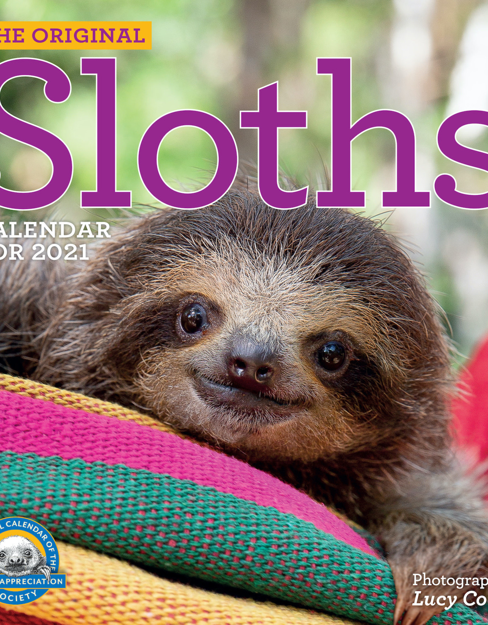 2021 Wall Calendar: Sloths