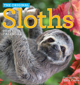2021 Mini Wall Calendar: Sloths
