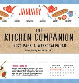 The 2021 Kitchen companion Page a Week Calendar