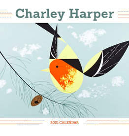 POMEGRANATE 2021 Mini Wall Calendar: Charley Harper