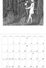 POMEGRANATE 2021 Wall Calendar: Edward Gorey