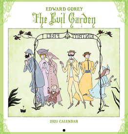 POMEGRANATE 2021 Mini Wall Calendar: Edward Gorey: The Evil Garden