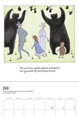 POMEGRANATE 2021 Mini Wall Calendar: Edward Gorey: The Evil Garden