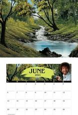 Simon & Schuster Bob Ross 2021 Wall Calendar