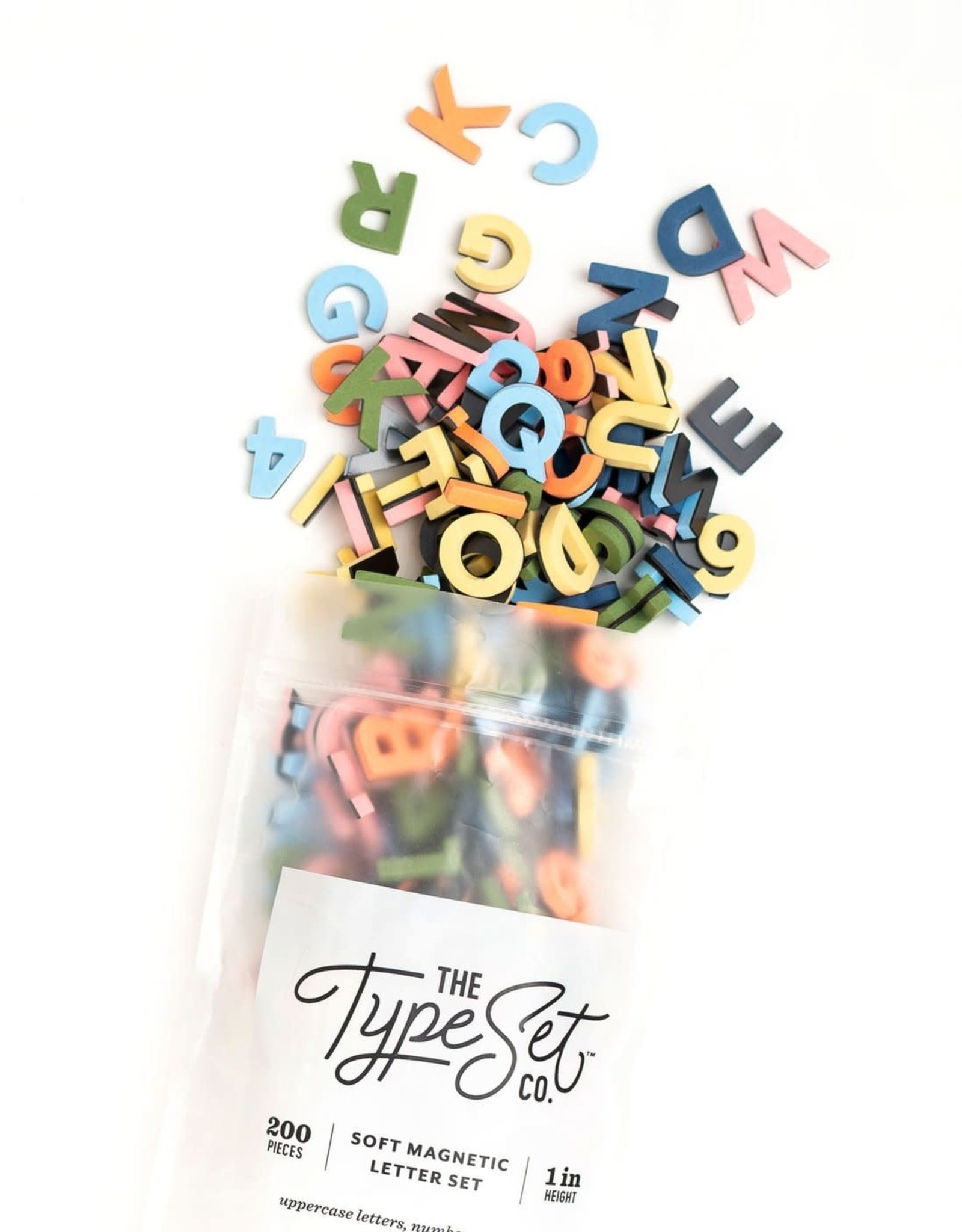 The Type Set Mod Mixed Letter Magnets